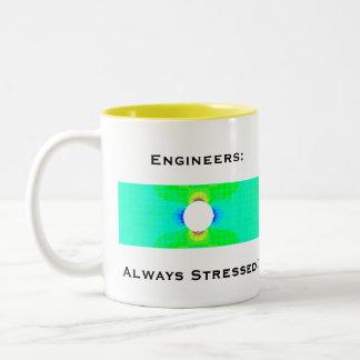 Taza del humor del ingeniero