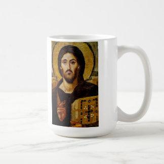 Taza del icono del Jesucristo