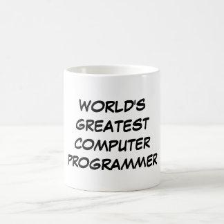 """""""Taza del informático más grande del mundo"""" Taza Clásica"""