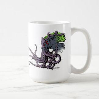 Taza del instinto de Lovecraftian Tinta del color