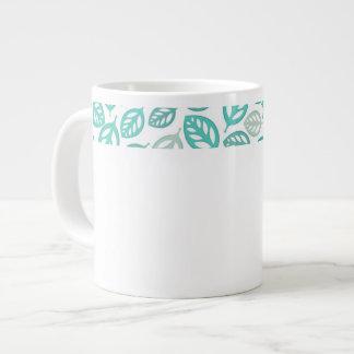 Taza del jumbo de las hojas taza grande