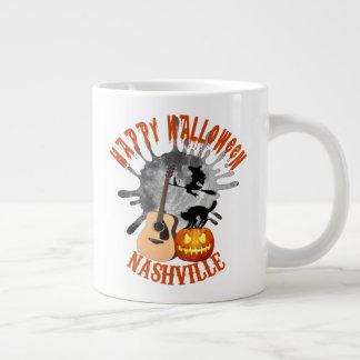 Taza del jumbo de Nashville del feliz Halloween