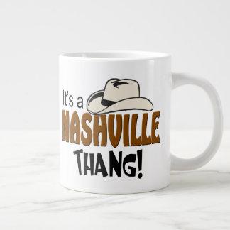 Taza del jumbo de Nashville Thang