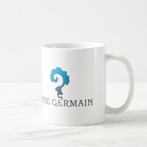 Taza del logotipo de Anne Germán