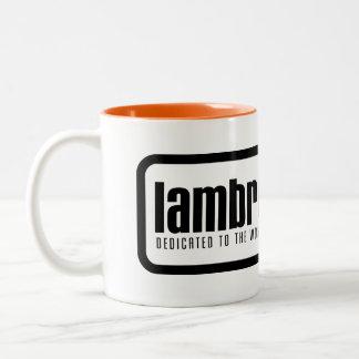 Taza del logotipo de Lambrettista
