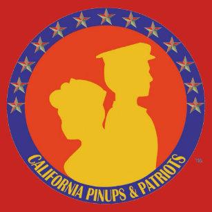 Taza del logotipo de los Pinups y de los patriotas 4780b03506f