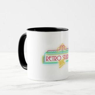 Taza del logotipo de RetroStudiosMC