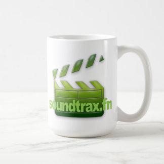 Taza del logotipo de Soundtrax