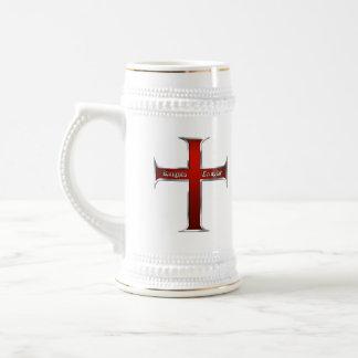 Taza del logotipo de Templar Dbl