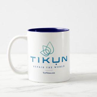 Taza del logotipo de Tikun