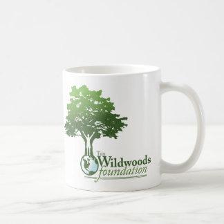 Taza del logotipo de Wildwoods con lema