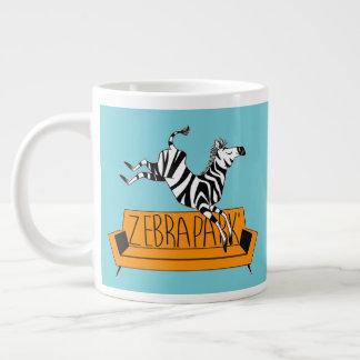 Taza del logotipo de ZebraPark