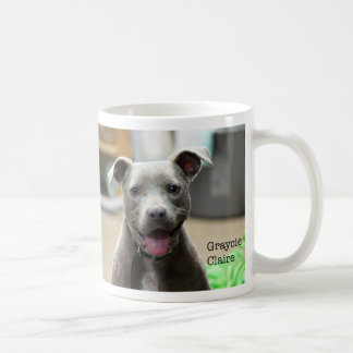 Taza del logotipo del cuidado animal de las