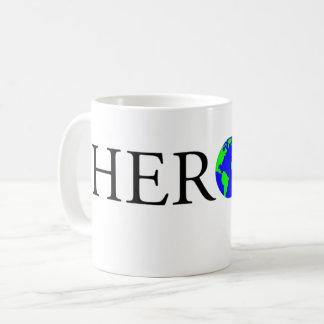 Taza del logotipo del HÉROE
