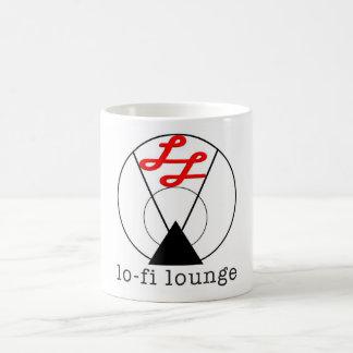 taza del logotipo lo-fi