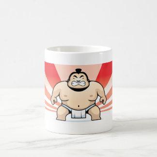 Taza del luchador del sumo