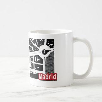 Taza del mapa de Madrid