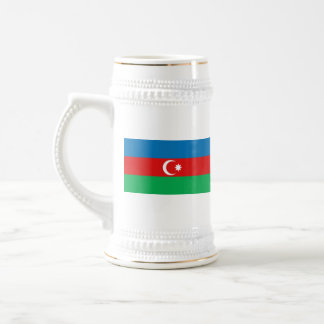 Taza del mapa del ~ de la bandera de Azerbaijan