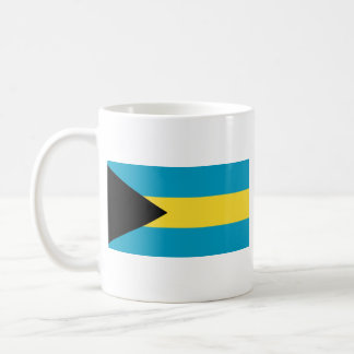 Taza del mapa del ~ de la bandera de Bahamas