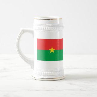 Taza del mapa del ~ de la bandera de Burkina Faso
