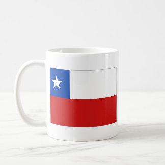 Taza del mapa del ~ de la bandera de Chile