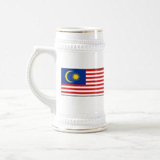 Taza del mapa del ~ de la bandera de Malasia
