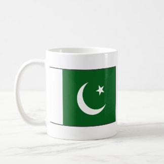 Taza del mapa del ~ de la bandera de Paquistán