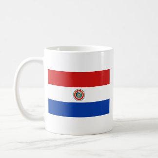 Taza del mapa del ~ de la bandera de Paraguay