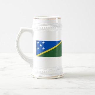Taza del mapa del ~ de la bandera de Solomon Islan