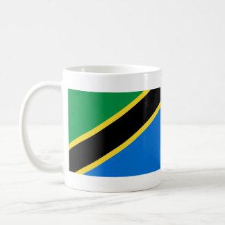 Taza del mapa del ~ de la bandera de Tanzania