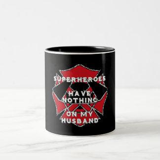 Taza del marido del bombero