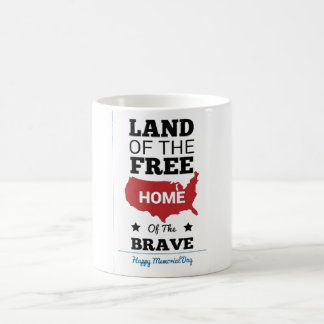 Taza del Memorial Day para el regalo