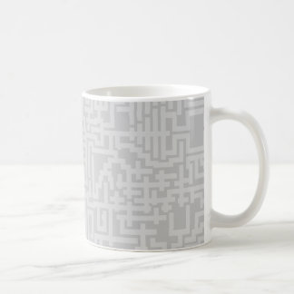 Taza del modelo del laberinto de PixelMixel -