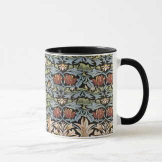 Taza del modelo del lirio de William Morris