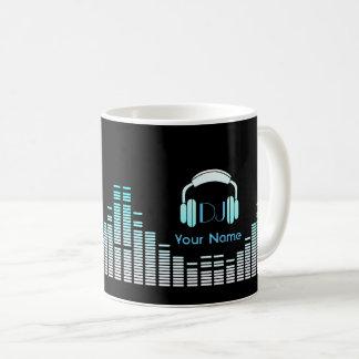 Taza del músico de DJ personalizada