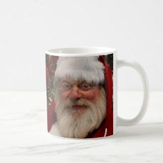 Taza del navidad de Papá Noel