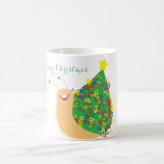 Taza del navidad de Slimey