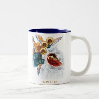 Taza del navidad - paz en el regalo ortodoxo de la