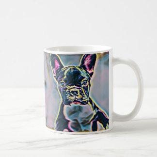 Taza del neón de Boston Terrier