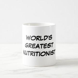 """""""Taza del nutricionista más grande del mundo"""""""