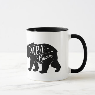 Taza del oso de la papá, taza del oso de la papá,