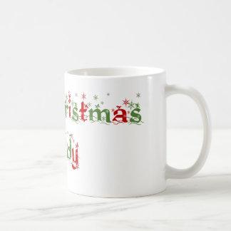 Taza del papá de las Felices Navidad
