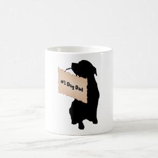 Taza del papá del perro #1