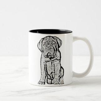Taza del perrito de Dogue de Bordeaux