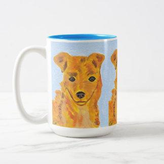 Taza del perro de Terrier