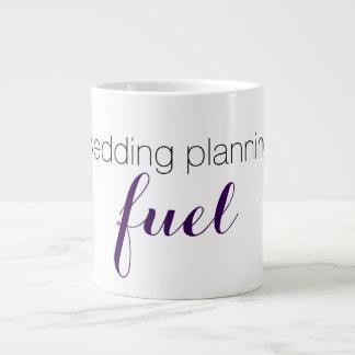 Taza del planeamiento del boda