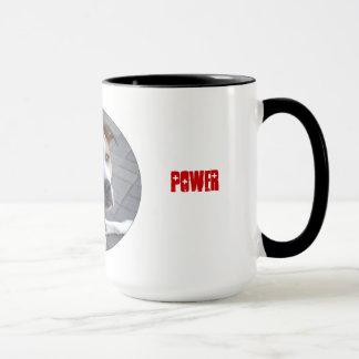 Taza del poder de Pitbull