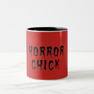 Taza del polluelo del horror