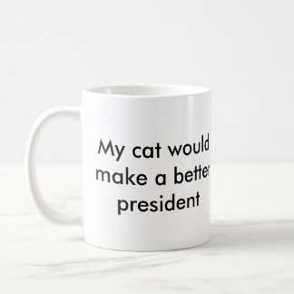 Taza del presidente del gato