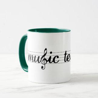 Taza del profesor de música